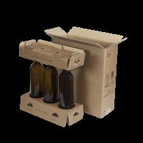 Kit Spedizione sicura 3 bottiglie COD. KSV3B