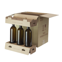 Kit Spedizione sicura 6 bottiglie COD. KSV6B