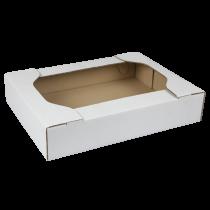 Cassetto ad incastro mono onda 38,5x29x7 cm bianca Cod.  SCV26