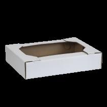 Cassetto ad incastro mono onda 39x29x8,3 cm bianca Cod. SCV27