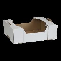 Cassetto ad incastro  40X30X12,5 cm bianca  Cod. SCV31