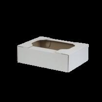 Cassetto ad incastro mono onda 38×27,8×11,5 cm bianca SCV37